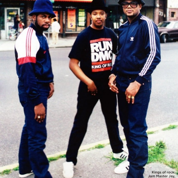 Adidas Original Track Jacket 8s Rap